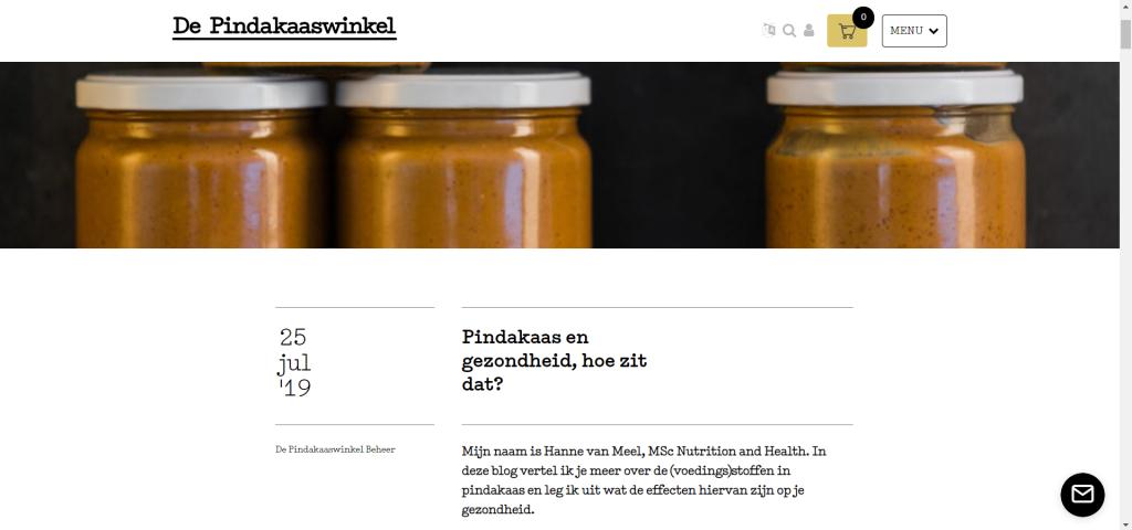 Afbeelding - Blog De Pindakaaswinkel
